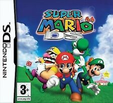 New Super Mario 64 DS Game for Nintendo DS DSI DSL 3DS XL Brand New Sealed UK