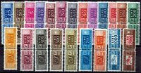 Pacchi postali - serie completa fil.stelle nn.82/103 - nuovi (MNH)