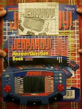 Jeopardy Electronic LCD Game by TIGER Cartridge Handheld Trivia Game NEVER USED!