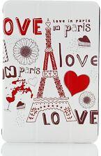 iPad Mini 2 Tablet Case w/Auto Sleep/Wake Function Smart Cover (Love In Paris)