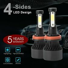 H11 H8 H9 LED Headlight Kit Globe Bulbs High or Low Beam White 1960W 300000LM