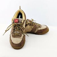 The North Face Brown Hiking Trail Lace Up Sneakers Shoes 566292 Women's 8.5