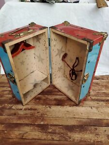 Vintage Hasbro Barbie KEN DOLL Travel Chest Closet 1960's & 70's ACCESSORY