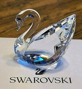 Swarovski Crystal 1995 Renewal Gift, Special Ed., Centenary Replica Swan, Logo
