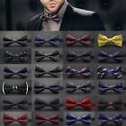 Fashion Adjustable Satin Men Tuxedo Classic Novelty Wedding Bow Tie Necktie