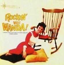 Wanda Jackson Rockin' With Wanda CD+Bonus Tracks NEW SEALED Rockabilly/Country