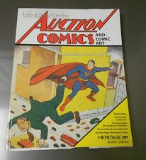 2008 HERITAGE Comics Comic Art Catalog SUPERMAN Toronto Collection 314 pgs