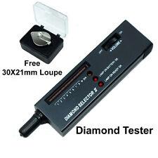 Diamond Selector V2 Portable Diamond Tester with 30X Jeweler's Loupe