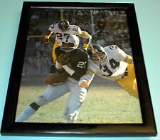 1974 AFC CHAMPS STEELERS RUSSELL RAIDERS BRANCH FRAMED