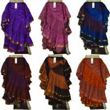 25 yard Tribal Gypsy Skirt for ATS style Dance - Multiple Color Variations