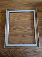 MID-CENTURY MODERN VTG GOLD WOOD PICTURE FRAME 20X16/20X24 PAINTING MIRROR ART