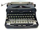 Royal Black Typewriter with Case Manual Keys Mechanical Vintage Used