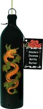 Ancient Dragon Serpent Smoking Bottle Incense Burner-Ashcatcher Made in Usa