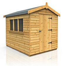 VERY STRONG 7ft x 5ft APEX WOODEN GARDEN SHED (FREE DELIVERY MOST AREAS)