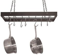 Hanging Pot Rack Pan Hanger Cookware Storage Pots Pans Kitchen Organizer New