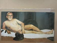 Vintage Burt reynolds  nude Parody poster 3221