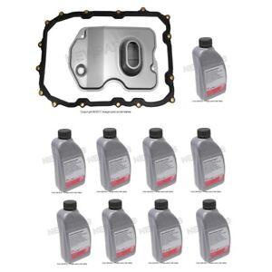 For Audi Q7 Porsche Cayenne VW Touareg Transmission Filter & Fluid 9L Kit