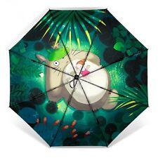Cartoon Studio Ghibli My Neighbor Totoro Three Folding Rain Umbrella Cosplay