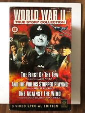 World War 2 True Story Collection VHS Video Retro, Supplied by Gaming Squad