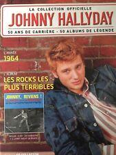 Johnny Hallyday La collection officielle Livre CD Les rocks les plus terribles