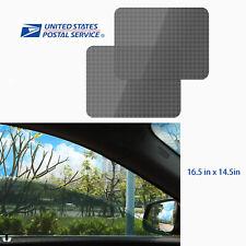 2x Car Window Static Cling Film Sun Visor UV Block Cover Sunshade Side Protector