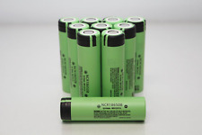 4x Genuine Panasonic 18650 3400mAh  NCR18650B Li-ion Vape Rechargeable Battery