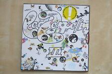 LED ZEPPELIN III German vinyl LP in rotating wheel gatefold sleeve Atlantic Ex+