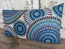 Aztec Home Decor Oblong Rectangle Blue/Brown/Green/Black 50x30 Cushion Cover