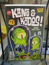 It's Kang & Kodos #1 Bongo Comics The Simpsons Matt Groening Homer Bart Lisa