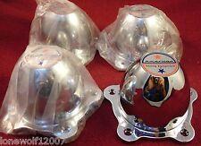 American Racing Wheels Chrome Custom Wheel Center Caps Set of 4 # 89-8008M NEW!