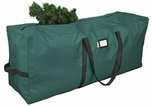 Primode Xmas Tree Storage Bag Fits Up to 7.5 Ft. Tall Disassembled Tree Green