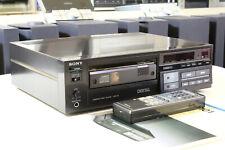 Sony cdp-101 reproductor de CD, impecable + FB + manual + garantía! primer reproductor