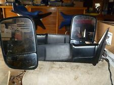 X1225 DODGE RAM 09 AND UP 1500 2500 3500 PAIR MIRRORS OUTSIDE DOOR 68143805AB