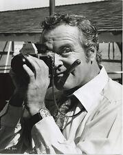 Jack Lemmon original press photo with Nikon camera and cigar 1972