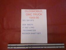 1949-56 OLDSMOBILE AND GMC TRUCK 303,324 V8'S  NEW 2 PIECE ROCKER SHAFT SET
