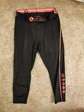 Ethika Men's M Compression 3/4 Tights Subzero Black Red Performance Underwear