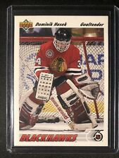 1991-92 Upper Deck Hockey Dominik Hasek #325 Blackhawks