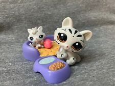 Littlest Pet Shop Lot Rare Mommy & Baby Tigers 3585 3586 Authentic