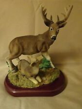 Buck Deer Doe Figurine