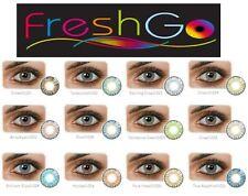 Lentilles de couleur FreshGo Cosmetic Lenses* Vendeur Français* Livraison 48H