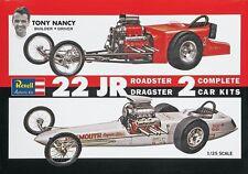 revell 85-1224 1/25 Tony Nancy Dragster Set Plastic Model Kit new in the box
