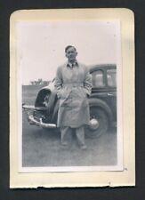 1940's CHARLIE H. WOOD Vintage Golf Autograph Sheet