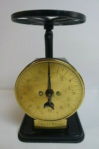Brass Arthur C. Wright Country Store Advertiser Scale Chicago, Illinois