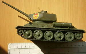 USSR Russia army TANK T-34 infantry armored combat vehicle tin toy diecast