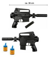 Softair Pistole Waffe M304F Gun <0,5 Joule ab14 Jahre Magazin +100 Kugeln 36 cm