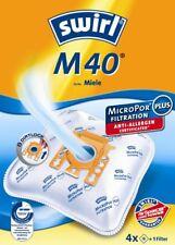 4 Staubsaugerbeutel Swirl geeignet für Miele Electronic 2210
