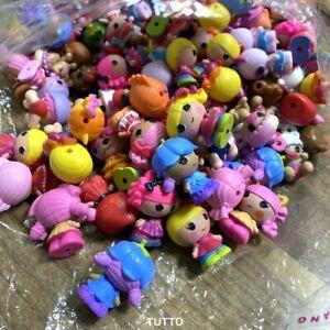 10PCS Lalaloopsy Tinies Figures & Animals Dolls 1.25'' Cake Topper Toys-Random