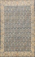 Vegetable Dye All-Over Khotan Oriental Area Rug Hand-knotted Wool Carpet 8x10 ft