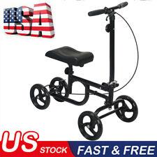 2020 ELENKER All-Road Knee Walker Steerable Madical Scooter Crutch Alternative