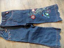 PAMPOLINA schöne Jeans m. Stickerei Gr. 86 NEUw.  ST817
